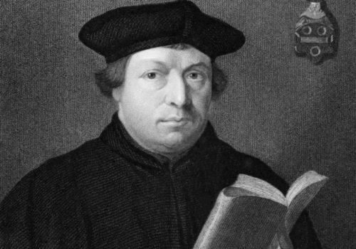 Martinho Lutero deu início à reforma Protestante